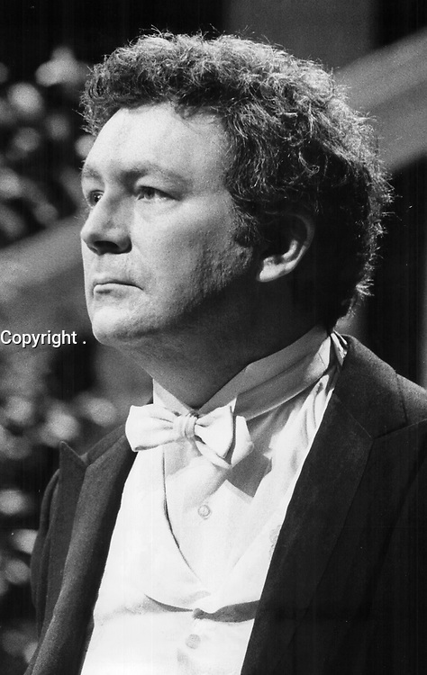 1977 FILE PHOTO - ARCHIVES -<br /> <br /> Quebec actor-director Claude Jutra's in Toronto to star in a CBC-TV production of Molnar's The Wolf. The fantasy-comedy, to be telecast next season, marks Jutra's English-language acting debut.<br /> <br /> PHOTO : Reg INNELL - Toronto Star Archives - AQP