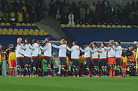 The U.S. and England played to a 1-1 draw in the opening match of Group C play at Rustenburg's Royal Bafokeng Stadium, Saturday, June 12th.