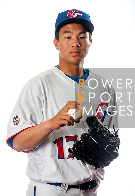 Tseng, Jen-Ho of Team Chinese Taipei poses during WBC Photo Day on February 25, 2013 in Taichung, Taiwan. (Photo by Victor Fraile/Getty Images for