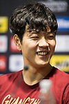 Guangzhou Evergrande FC defender Kim Young-gwon reacts during Pre-Match Press Conference and Training Session prior to the AFC Champions League 2017 Quarter-Finals match between Shanghai SIPG (CHN) and Guangzhou Evergrande (CHN) at the Shanghai Stadium on 21 August 2017 in Shanghai, China. Photo by Yu Chun Christopher Wong / Power Sport Images