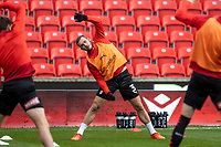 31st October 2020; Bet365 Stadium, Stoke, Staffordshire, England; English Football League Championship Football, Stoke City versus Rotherham United; Joe Mattock of Rotherham United warms up