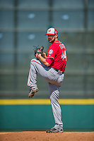 15 March 2016: Washington Nationals starting pitcher Lucas Giolito, ranked the Number One Top Prospect in the Nationals organization for 2016 by MLB and Baseball America, in action during a Spring Training pre-season game against the Houston Astros at Osceola County Stadium in Kissimmee, Florida. The Nationals defeated the Astros 6-4 in Grapefruit League play. Mandatory Credit: Ed Wolfstein Photo *** RAW (NEF) Image File Available ***