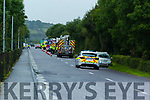 Scene of a major car accident near Kerry Airport on Monday morning.