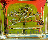 The National Hunt Cup trophy.