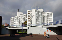 Nederland  Amsterdam-  2020.   Amsterdam Noord Mosplein. NH Hotels.   Foto : ANP/ HH / Berlinda van Dam
