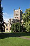 United Kingdom, England, Worcestershire, Tewkesbury: Abbey Church of St Mary the Virgin (Tewkesbury Abbey) | Grossbritannien, England, Worcestershire, Tewkesbury: Klosterkirche St Mary the Virgin (Tewkesbury Abbey)