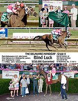 """Blind Luck defeating Havre de Grace in the 2011 The Delaware Handicap.<br /> This race was referred to as """"the showdown in Stanton""""<br /> to compare different versions of this winphoto search:  Blind Luck, winphoto"""
