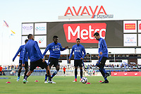 San Jose, CA - Wednesday June 28, 2017: San Jose Earthquakes  prior to a U.S. Open Cup Round of 16 match between the San Jose Earthquakes and the Seattle Sounders FC at Avaya Stadium.