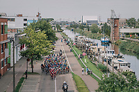 along the canal<br /> <br /> 52nd GP Jef Scherens - Rondom Leuven 2018 (1.HC)<br /> 1 Day Race: Leuven to Leuven (186km/BEL)