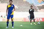 Team Formers of Kashiwa Reysol during their pre match training session prior to the Guangzhou Evergrande vs Kashiwa Reysol match as part the AFC Champions League 2015 Quarter Final 2nd Leg match on September 14, 2015 at  Tianhe Sport Center in Guangzhou, China. Photo by Aitor Alcalde / Power Sport Images