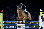 Gerco Schroder of The Netherlands riding Glock's Lausejunge Gerco Schroder of The Netherlands riding Glock's Lausejunge competes in the Maserati Masters Power during the Longines Masters of Hong Kong at AsiaWorld-Expo on 10 February 2018, in Hong Kong, Hong Kong. Photo by Ian Walton / Power Sport Images