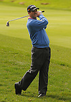 3 October 2008: Charles Warren watches an approach shot during the second round at the Turning Stone Golf Championship in Verona, New York.