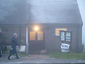 12/12/19<br /> <br /> In the first December general election since 1923, voters arrive at a wintery polling station in Flash - Britain's highest village in the Staffordshire moorlands.<br /> <br /> <br /> All Rights Reserved: F Stop Press Ltd.  <br /> +44 (0)7765 242650 www.fstoppress.com