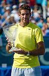 Juan Martin del Potro (ARG) Wins Citi Open against John Isner (USA) 3-6, 6-1, 6-2