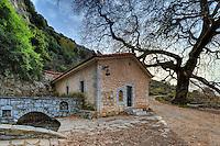 St. John's Kefalari Chapel near Dimitsana in Arcadia, Peloponnese, Greece.