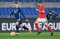 18th February 2021, Rome, Italy;  Martin Odegaard of Arsenal FC during the UEFA Europa League round of 32 Leg 1 match between SL Benfica and Arsenal at Stadio Olimpico, Rome, Italy on 18 February 2021.