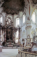 Pilgrimage Church of Vierzehnhelligen<br /> near Bamberg, Germany, 1743-72. Designed by J. Balthasar Neumann. Baroque-Rococo style.