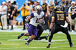 Washington Huskies wide receiver Chico McClatcher (13) in action during the Zaxby's Heart of Dallas Bowl game between the Washington Huskies and the Southern Miss Golden Eagles at the Cotton Bowl Stadium in Dallas, Texas.