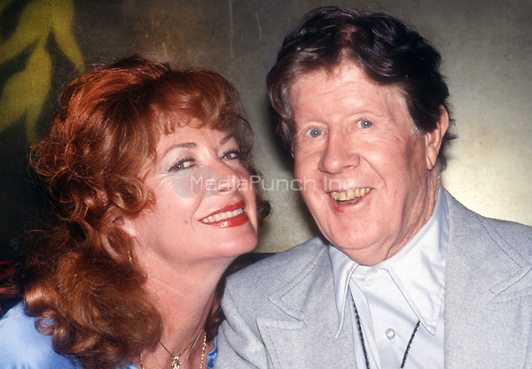 Rudy Vallée and wife Eleanor Norris 1978<br /> Photo By Adam Scull/PHOTOlink.net /MediaPunch