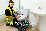 Conor Sheahan from Currow, a 1st year apprentice plumber with Keltic Heating.
