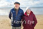 Pat and Ann Sheehan from Ballyheigue enjoying a stroll on Ballyheigue beach on New Years Day.