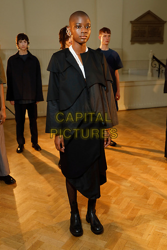 "Phoebe English is an English fashion designer and head of her eponymous brand of women's wear and menswear - English grew up ""100 metres away from Shakespeare's birth place in Stratford-upon-Avon"" and graduated from Central Saint Martins in 2011.<br /> London, England in February 2020.<br /> CAP/GOL<br /> ©GOL/Capital Pictures"