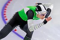 28th December 2020; Thialf Ice Stadium, Heerenveen, Netherlands; World Championship Speed Skating;  500m ladies, Femke Kok during the WKKT