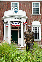 Exterior of the JFK Museum, Hyannis, Cape Cod, Massachusettes, USA