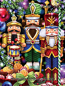 Randy, CHRISTMAS SYMBOLS, WEIHNACHTEN SYMBOLE, NAVIDAD SÍMBOLOS, paintings+++++,USRW361,#xx# ,puzzle,puzzles nutcracker,nutcrackers,