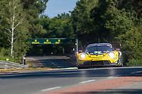 #72 Hub Auto Racing Porsche 911 RSR - 19 LMGTE Pro, Dries Vanthoor, Alvaro Parente, Maxime Martin, 24 Hours of Le Mans , Test Day, Circuit des 24 Heures, Le Mans, Pays da Loire, France