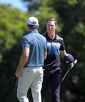 Daniel Hillier after winning his quarterfinal against Mark Brown. Final day of the Jennian Homes Charles Tour / Brian Green Property Group New Zealand Super 6s at Manawatu Golf Club in Palmerston North, New Zealand on Sunday, 8 March 2020. Photo: Dave Lintott / lintottphoto.co.nz