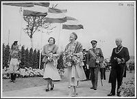 November 11 (1945)  ceremonies in Holland after World War II