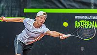 Rotterdam, Netherlands, August21, 2017, Rotterdam Open, Gijs Brouwer (NED)<br /> Photo: Tennisimages/Henk Koster