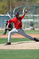 Robert Fish - Los Angeles Angels - 2009 spring training.Photo by:  Bill Mitchell/Four Seam Images
