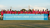 Bradenton, FL - Sunday, June 12, 2018: CONCACAF Awards, Canada during a U-17 Women's Championship Finals match between USA and Mexico at IMG Academy.  USA defeated Mexico 3-2 to win the championship.