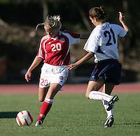 MAR 11, 2006: Quarteira, Portugal:  Janne Madsen, Stephanie Lopez