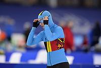 SPEEDSKATING: HEERENVEEN: 16-01-2021, IJsstadion Thialf, ISU European Speed Skating Championships, Stien Vanhoutte, ©photo Martin de Jong