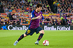 Lionel Messi of FC Barcelona in action during the La Liga 2018-19 match between FC Barcelona and Sevilla FC at Camp Nou Stadium on October 20 2018 in Barcelona, Spain. Photo by Vicens Gimenez / Power Sport Images