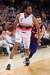 League ACB-ENDESA 201/2019.Game 38.<br /> PlayOff Semifinals.1st match.<br /> FC Barcelona Lassa vs Tecnyconta Zaragoza: 101-59.<br /> Stan Okoye.