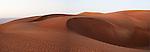 Sand Dunes at sunset. Wahiba Sands. Oman.