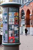 Morris collumn on Elgin street in..Ottawa, Capital of Canada....photo : (c)  Images Distribution..