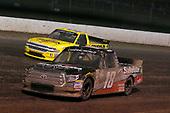 #18: Noah Gragson, Kyle Busch Motorsports, Toyota Tundra Safelite AutoGlass and #2: Cody Coughlin, GMS Racing, Chevrolet Silverado Jeg's.com