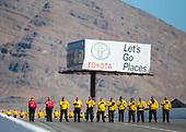 Toyota, signage, national anthem