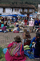 Amérique/Amérique du Sud/Pérou/Pisac : Le marché