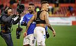 06.02.2019: Aberdeen v Rangers: Jermain Defoe and James Tavernier