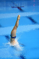 Russia's Evgenii Kuznetsov competes in the men's 3m Springboard final <br /> <br /> Photographer Hannah Fountain/CameraSport<br /> <br /> FINA/CNSG Diving World Series 2019 - Day 2 - Saturday 18th May 2019 - London Aquatics Centre - Queen Elizabeth Olympic Park - London<br /> <br /> World Copyright © 2019 CameraSport. All rights reserved. 43 Linden Ave. Countesthorpe. Leicester. England. LE8 5PG - Tel: +44 (0) 116 277 4147 - admin@camerasport.com - www.camerasport.com