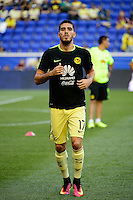 Harrison, NJ - Wednesday July 06, 2016: Ventura Alvarado during a friendly match between the New York Red Bulls and Club America at Red Bull Arena.