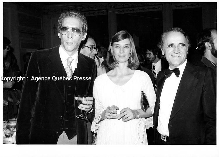 Serge Losique (D),<br /> Festival des Films du Monde, Septembrer 1979<br /> <br /> PHOTO : JJ Raudsepp  - Agence Quebec presse