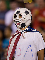 USA Fan. The USMNT tied Mexico, 1-1, during their game at Lincoln Financial Field in Philadelphia, PA.