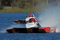 """Andrew Tate, A-25 """"Fat Chance"""" (2.5 MOD class hydroplane(s) and Tom Thompson, A-52 """"Fat Chance Too"""""""